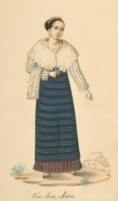 Image detail for -BibliOdyssey: Filipino Costumes Philippines Outfit, Philippines Fashion, Philippines Culture, Filipino Art, Filipino Culture, Filipiniana Dress, Filipino Fashion, Philippine Women, Maria Clara