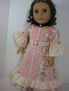 18 inch Doll Clothes American Girl 1800s Peach by nayasdesigns, $48.50
