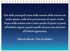 Brecht, Vita di Galileo