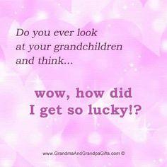 I'm so lucky #grandkids #grandma #grandbabies #grandmother