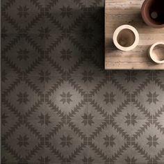 Maestro Geometric Tile DIY painted backsplash