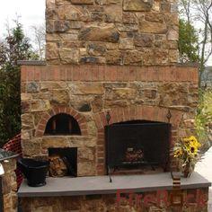 FireRock Outdoor Fireplace Kit