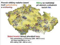POVRCH ČESKÉ REPUBLIKY :: Béčko-Tc Homeschool, Maps, Google, Travel, School, Viajes, Map, Trips, Traveling