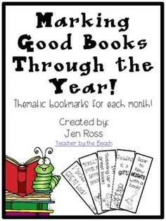 These are thematic bookmarks that you can print up and give to your students each month. There are a few different phrases for each month. I will be adding to the file as the year goes on! Grab them while they are free!So far in the file there is:September: Johnny Appleseed, Fall (2 pages)October: Halloween (2 pages)November: Thanksgiving (2 pages)December: Christmas, Hanukkah, and Baby Jesus (6 pages)January: Winter and New Year (3 pages)February: Valentine's Day, Groundhog's Day, and Presi...