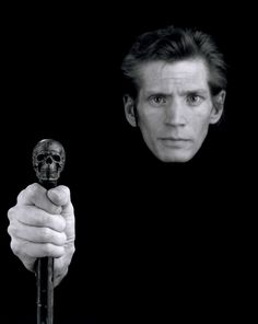 Self Portrait, 1988 - Robert Mapplethorpe. after being diagnosed with AIDS