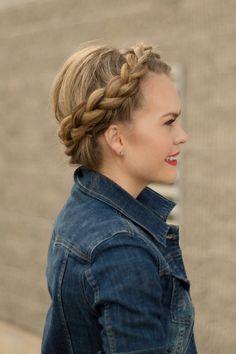 headbraid denim jacket | MissySue.com