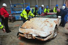National Corvette Museum: Millionth Corvette Unexpectedly Saved Early