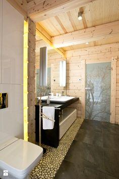 Wood Bathroom, Wooden House, Log Homes, Alcove, Bathtub, House Design, Apartments, Furniture, Houses