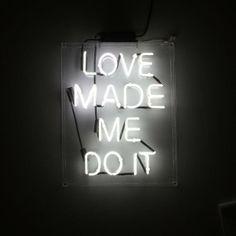 { Blame it on Love }