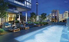 condo pool finished images - Google Search