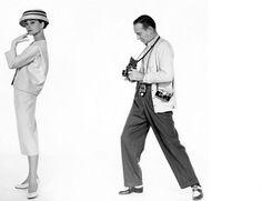 Audrey Hepburn and Fred Astaire. Source.. Voxsartoria