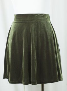 Here's a gorgeous velvet skater skirt that you'll be wearing throughout fall and…
