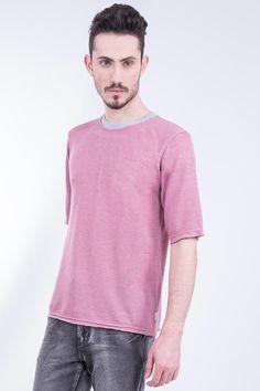 Oversized Light-Weight Short Sleeve Sweatshirt