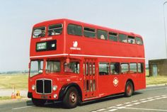 London Buses RV1 GJG750D AEC Regent V Park Royal Bus Photo- Leaside ex East Kent | eBay