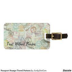 Travel Luggage & Bag Tags   Zazzle