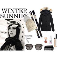 ski bunny sunnies Ski Bunnies, Bunny, Kinds Of Clothes, Sunnies, Stylish, Polyvore, Image, Fashion, Moda