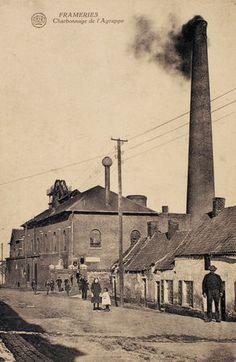 Frameries - charbonnage de l'Agrappe