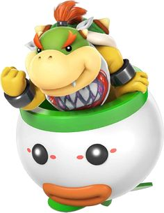super smash bros 4 characters list news | BOWSER,JR,☺ | Pinterest ...