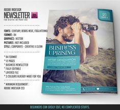 Business Newsletter Modern Template on Behance