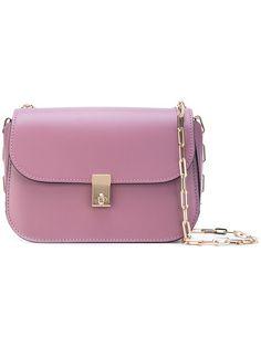VALENTINO Garavani Link Shoulder Bag. #valentino #bags #shoulder bags #leather #