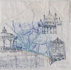 Image result for MACHINE EMBROIDERED TREES wendy dolan