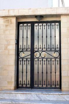 Porte d 39 entr e exterieur en fer forg porte pinterest for Home hardware porte et fenetre valleyfield