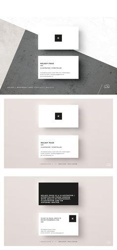 Business Card - Kelsey Templates PSD
