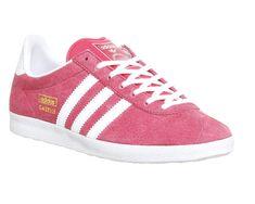 adidas gazelle og w schuhe beige pink grün