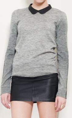 grey and black fashion