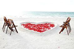 Hmmm...destination beach wedding but staying close to home...sounds like a winner.