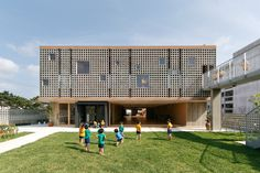Gallery of Hanazono Kindergarten and Nursery / HIBINOSEKKEI + Youji no Shiro - 1