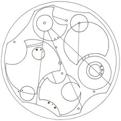 """""""After all this time? Always."""" in Circular Gallifreyan (#HarryPotter #DoctorWho)"""