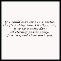 Save Time In A Bottle - Beautiful Wall Decals
