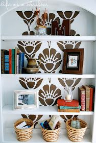 Life as a Thrifter: Change-up a boring shelf FOR FREE!