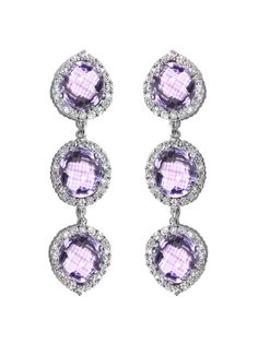 Anzie - Dew Drop Etoile Mini Ring - Amethyst. Available at Hingham ...