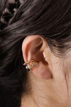 mother PETIT DROPS EAR CUFF
