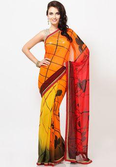 #Saree - #SAREES - #jabongworld #indianethnic #ethnic #indiansaree indian ethnic #Sattika
