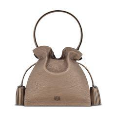 Loewe - flamenco 30 bag bronze