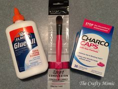 The Crafty Mimic: Charcoal Peel-Off Face Mask