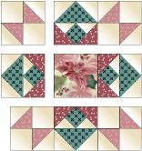 Free Quilt Block Pattern - Best of All Quilt Square Patterns, Hexagon Quilt, Quilt Block Patterns, Pattern Blocks, Big Block Quilts, Star Quilt Blocks, Lap Quilts, Half Square Triangle Quilts, Square Quilt