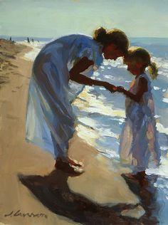 Beach Treasures by Jeffery Larson