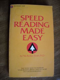 Speed Reading Made Easy by Nila Banton Smith (1963) ~~ For Sale At Wenzel Thrifty Nickel eCRATER store