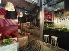 Juicy Designa réalisé un bar-restaurant appelé Méjico, localisé à Sydney, Australie.
