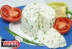 Házi snidlinges sajt készítése - Karcsi konyhája
