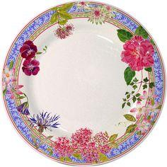 """Gien Millefleurs 11.25"""" Dinner Plate at EuropeanTableware"""