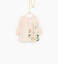 Printed dress-DRESSES-Baby girl-Baby   3 months - 3 years-KIDS   ZARA United States