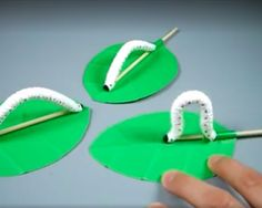 Super cute caterpillar bug craft how to video crafts for kids bugs insect spring