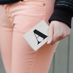 Initial Travel Card Holder
