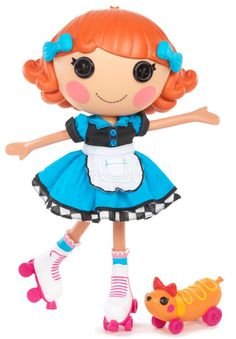 Lalaloopsy Doll - Pickles B.: The Lalaloopsy dolls were once rag dolls who magically came to life when their very last stitch was sewn. Now they live in a fantastical world full of silly surprises. With your love, their magic can go on forever. Lalaloopsy Mini, Preschool Games, Cute Dolls, Toys For Girls, Baby Girls, Doll Accessories, My Childhood, My Little Pony, Fashion Dolls