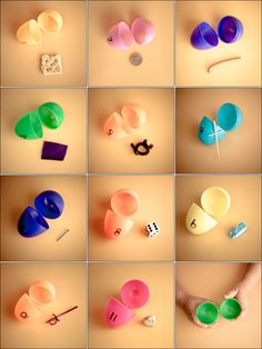 Make your own Resurrection Eggs.  A great way to teach children about the life of Jesus.  Fun and cheap!